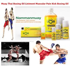 Namman Muay Thai Boxing Oil Liniment Muscular Pain Kick Boxing Massage Oil Sport
