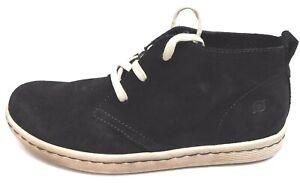 Born Size 8.5 Black Leather Chukka New Mens Shoes