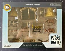 WizKids  4D Settings Terrain: Medieval Farmer –  Painted Terrain & Miniatures