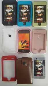Various Colors of Hard, Soft, and Pouch case for iPod Touch 1st Generation