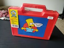 Vintage The Simpsons School Supply Box *Sealed New