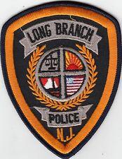 LONG BRANCH POLICE PATCH NEW JERSEY NJ