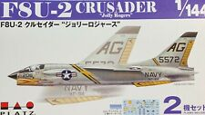 1/144 Fighter: Vought F8U-2 Crusader 2 x Kits w/2 Decal Options [USN] : PLATZ