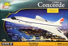 COBI Concorde G-BBDG (1917) - 455 elem. - supersonic passenger airliner