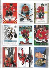 HUGE PATRICK KANE 80 CARD ALL DIFFERENT LOT BLACKHAWKS