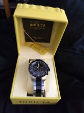 Invicta 1326  Men's 1326 Invicta II Chronograph Black Dial Two-Tone Stainless St
