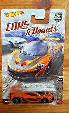 HOT WHEELS 2017 CAR CULTURE CARS & DONUTS SERIES 1/5 McLAREN P1 (A+/A)