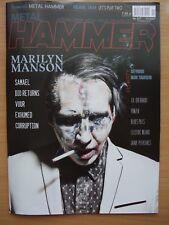 MARILYN MANSON / SAMAEL on front cover METAL HAMMER Poland 11/2017