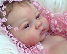 """> reine par Ping Lau Reborn baby doll Kit @ Free Ventre Plaque @ 20"""" @ New libéré"""