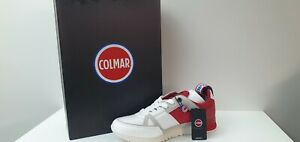 Sneakers Uomo Colmar  - Art. SUPREME MACRO  Col.Bianco - Rosso- Sconto 40%!!!!