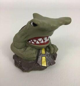 Street Sharks Jab Hammerhead Figure Water Squirter Bath Pool Toy Taco Bell 1995