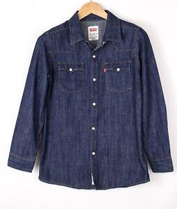 LEVI'S STRAUSS & CO Enfants Jean Vintage Chemise Décontractée Taille L (12-13Y)