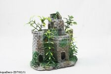 "Beautiful Small 5"" Resin Castle Decoration/Ornament For Aquarium (SHIP FROM USA)"