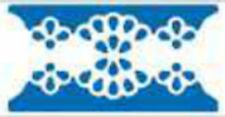 fustellatore perforatore bordi cornice a fiori scrapbooking