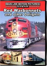 Red Warbonnets and Other Delights Santa Fe Railway DVD NEW Main Line ATSF D&RGW