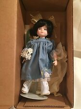 """Robin Woods Anne """"Buttercup Days"""" 8"""" Vinyl Doll - 1990 W/Box,Tag, and Stand"""