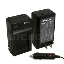 Rapid Battery Charger w/ Car Adapter for JVC BN-VF707U VF714U VF733U AA-VF7U