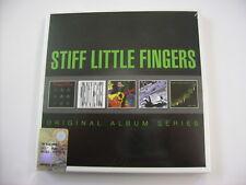 STIFF LITTLE FINGERS - ORIGINAL ALBUM SERIES - 5CD BOXSET NEW SEALED 2014