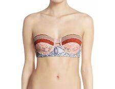 Maaji NEW Women's Size Small M Bikini Top Reversible Floral Printed Swimwear