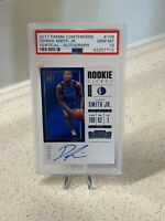 2017-18 Panini Contenders Rookie Ticket AUTO Dennis Smith Jr RC /125 PSA 10