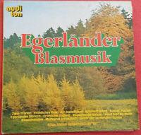 Egerländer Heimatorchester / Egerländer Blasmusik LP Vinyl 1973