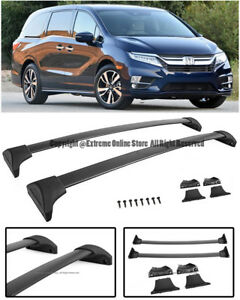 For 18-Up Honda Odyssey Factory GM Roof Bike Rack Cross Bar Luggage Carrier
