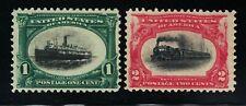 Scott #294 + #295 *Mint* 1 + 2 Cent Pan-American Exposition *1901*Mint*