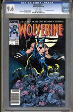Wolverine #1 CGC 9.6 NM+ WHITE Pages Universal CGC #0001544004