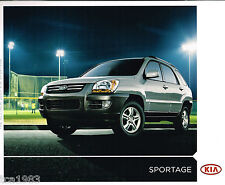 2005 KIA SPORTAGE Catalog / Brochure with Color Chart