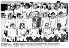 PORT VALE FOOTBALL TEAM PHOTO>1976-77 SEASON