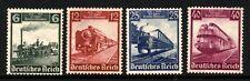 Germany Scott 459-62 Trains Mint NH set