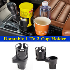 Rotatable 1 To 2 Cup Holder Small Items Storage Box For Car Center Console Well
