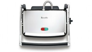 FREESHIP-Breville The Toast and Melt Sandwich Press, Brushed Stainless Steel BSG