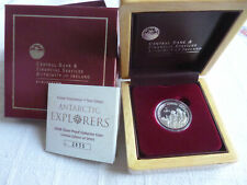2008 Ireland International Polar Year Silver Proof Coin Antarctic Explorers PP