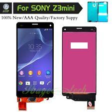 For Sony Xperia Z3 Compact Mini D5803 D5833 Black LCD Screen Digitizer +Sticker
