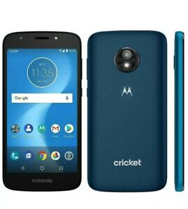 Motorola Moto E5 Cruise XT1921-2 Smartphone - Navy Blue - Cricket Locked