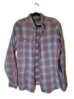 ralph lauren Polo plaid flannel Mens XL Fast Shipping!