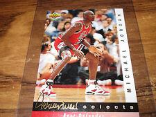 92/93 UPPER DECK JERRY WEST SELECTS MICHAEL JORDAN