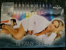 PLAYBOY BENCHWARMER TIFFANY SELBY  DREAM GIRLS PREVIEW CARD