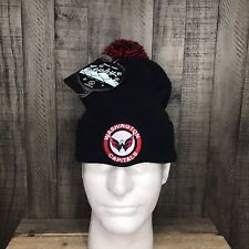 NWT NHL Washington Capitals Beanie Hat Winter Cap Adult One Size Fits All Mens