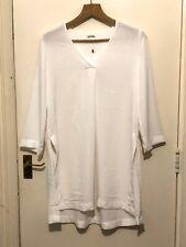 ASOS Monki White Oversized Tunic Top Shirt Size Small