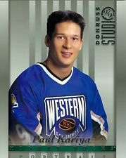 Paul Kariya 1997-98 Donruss Studio '97 Portrait Anaheim Mighty Ducks #4 NM 8x10