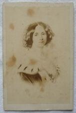 KABINETTFOTO CDV KAISERIN AUGUSTA um 1840 Foto wohl um 1860 von einem Gemälde