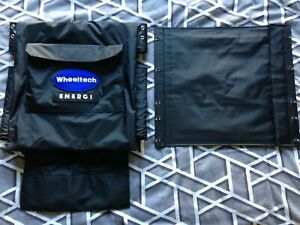 WHEELTECH ENIGMA ENERGI ELECTRIC WHEELCHAIR SEAT BACK REST CANVAS SPARE PARTS
