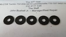 5 Shimano Parts# RD 13694 Set Drag Washers Fits SRG-18000F, Spheros 18-20000FB