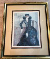 "Barbara A. Wood Signed & Numbered Print 381/875 - Framed 22.5"" x 28.5"""