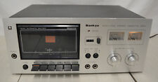 Vintage Sankyo STD-1700 15W Single Stereo Cassette Deck *Tested*