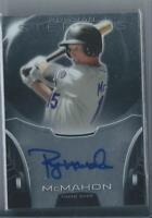 2013 Bowman Sterling RYAN McMAHON Rookie RC AUTO AUTOGRAPH Colorado Rockies Card