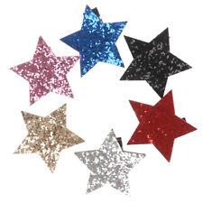 Horquilla con Forma de Estrella Niños Broches con brillo Pasadores Cabello li*QA