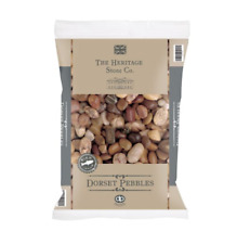 Natural Dorset Large River Pebbles Stones Rocks Mixed Colour Plant Decor 20kg